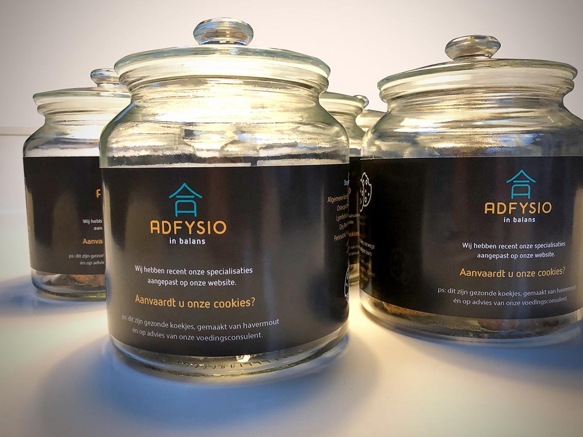 m33 portfolio - adfysio - cookie jar
