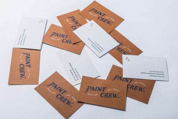 Paint Crew - Visitekaartjes