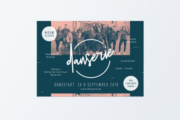 Danserie - Flyer