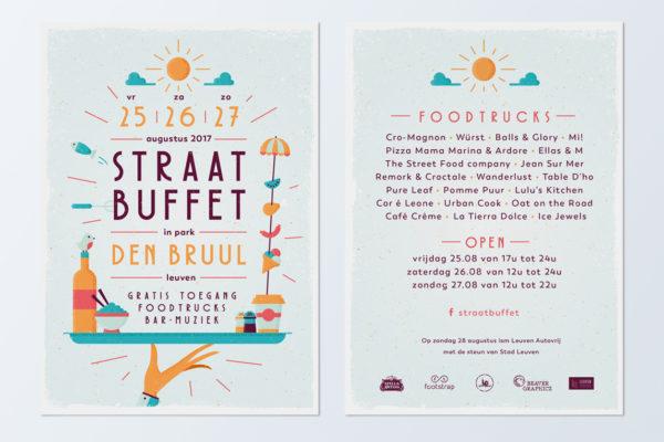 Straatbuffet - Flyer 2017